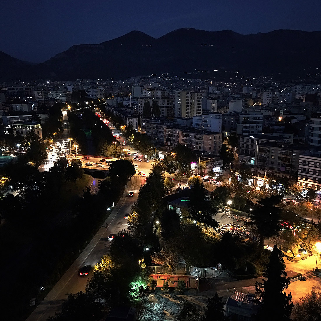 AIMS International i Tirana, Albanien
