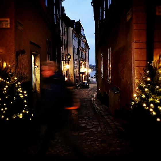Julhälsning från Gamla stan