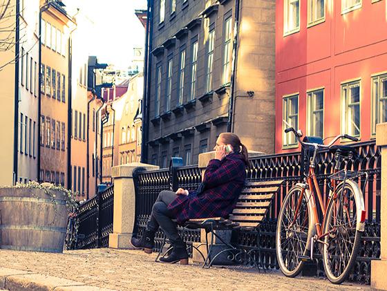 Gamla stan - cykel