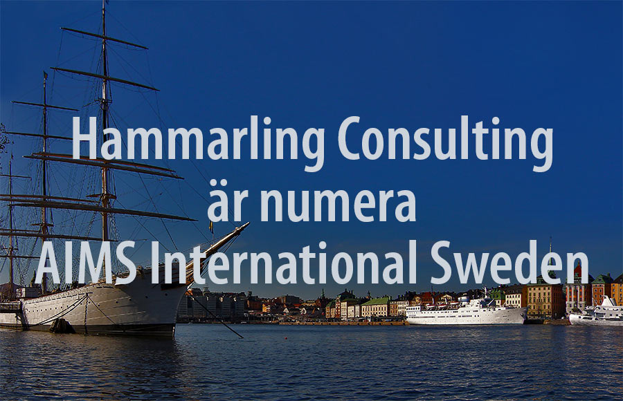 Hammarling Consulting numera AIMS International Sweden